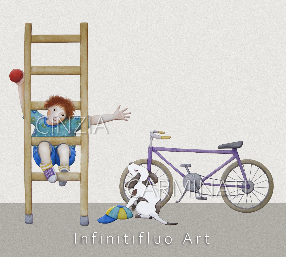 Illustrazioni © Cinzia Carminati - infinitifluo.com