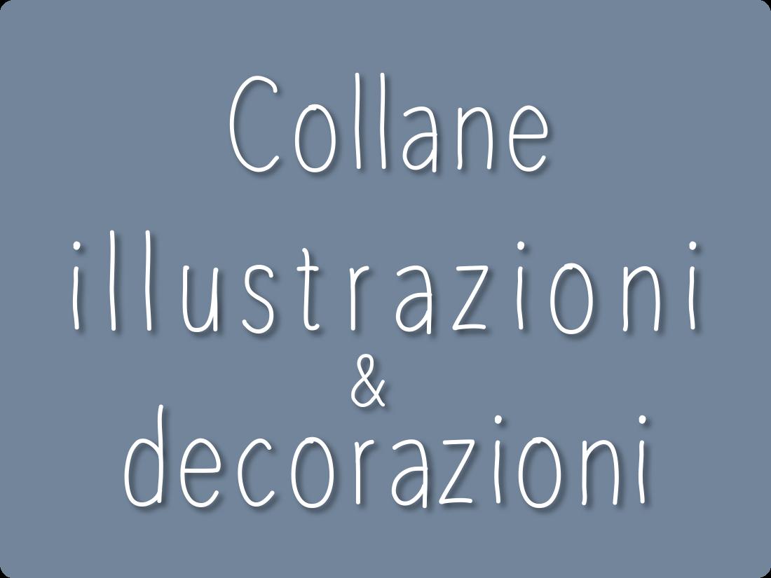 bottone collane illustrazioni