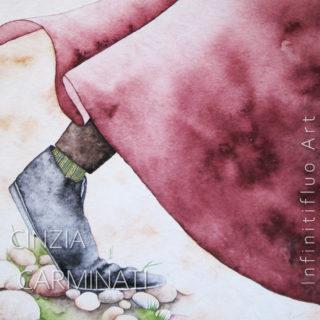 La scarpa del mago-Illustrazioni © Cinzia Carminati - infinitifluo.com