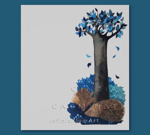 Ricci-illustrazioni © Cinzia Carminati - infinitifluo.com